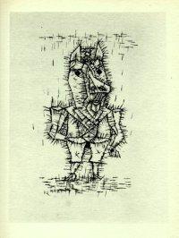パウル・クレー Paul Klee 「Ass」 1947年作リトグラフ