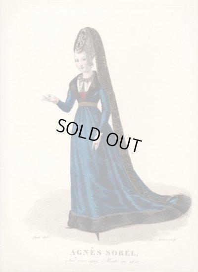 画像1: フランスセレブファッション「Agnes Soreil」、1827年作、