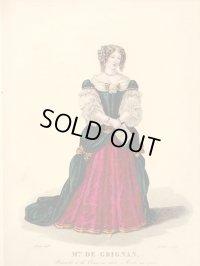 1827年セレブファッショ「Madame de Grignan」