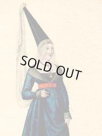 1827年セレブファッション「Marguerite de Flandre」
