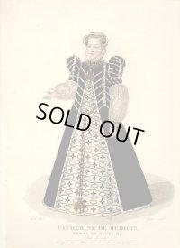 1827年セレブファッション「Catherine de Medicis」