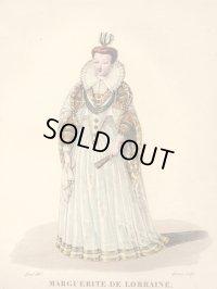 1827年セレブファッション「Marguerite de Lorraine」