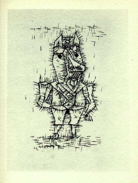 画像1: パウル・クレー Paul Klee 「Ass」 1947年作リトグラフ