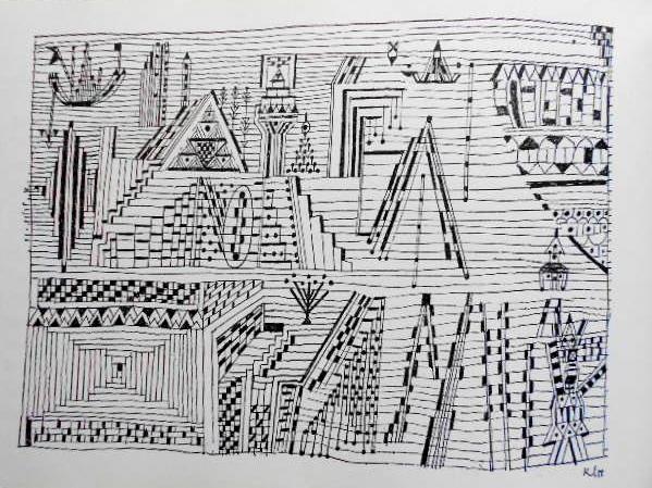 画像4: ハードカバーBook、P・Klee60ドロ〜イング掲載「The Novices of Sais」