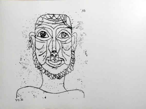 画像2: ハードカバーBook、P・Klee60ドロ〜イング掲載「The Novices of Sais」