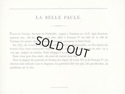 画像2: フランスセレブファッション「La Belle Paule 」、1827年作、