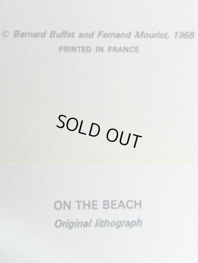 画像2: ビュッフェのリトグラフ1968年作「On the beach」