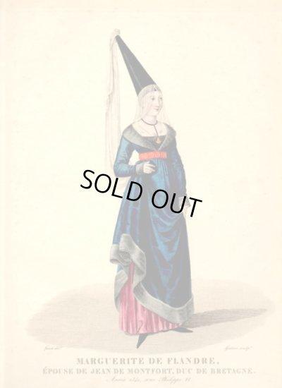 画像2: 1827年セレブファッション「Marguerite de Flandre」