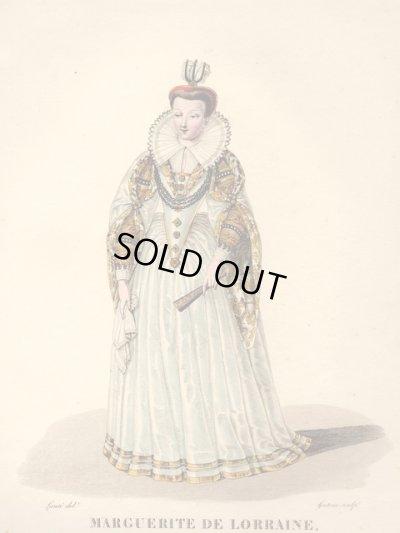 画像1: 1827年セレブファッション「Marguerite de Lorraine」