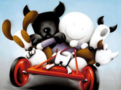 画像1: Doug Hyde ダグハイド   「みんな、捕まって!」 ,133